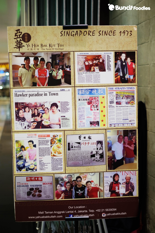 Ya Hua Bak Kut Teh The Taste Of Heritage Singapore Atasan Sweden Putih Shop At Velvet Berlokasi Di Lantai 4 Mal Taman Anggrek Memiliki Papan Nama Yang Eye Catching Sehingga Lokasinya Sangat Mudah Untuk Ditemukan